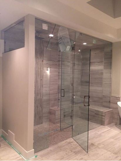 Picture of 10mm Frameless Shower Enclosure