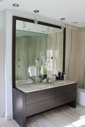 Mirrors with Wood Frames