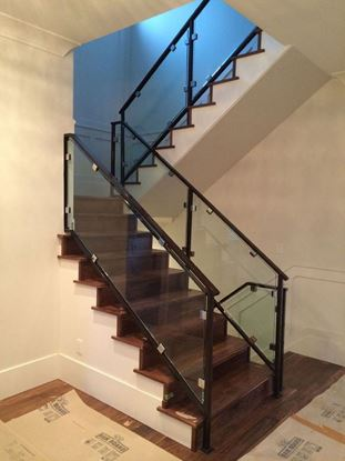 12mm Framed Glass Railing with Clips